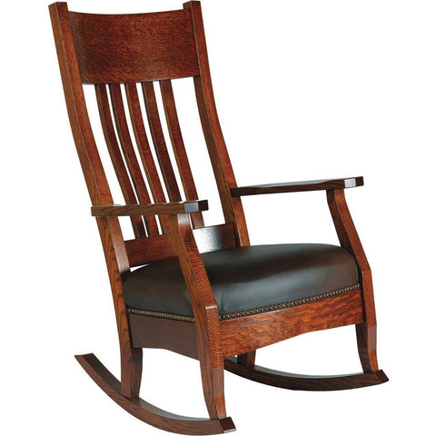 QW Amish Mission Rocker BUPE-MR235