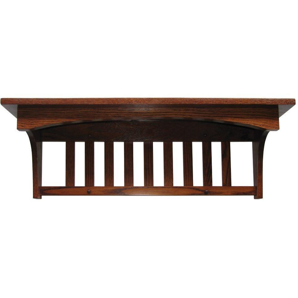 QW Amish Mission Shelf - 1 HPSH-736MC