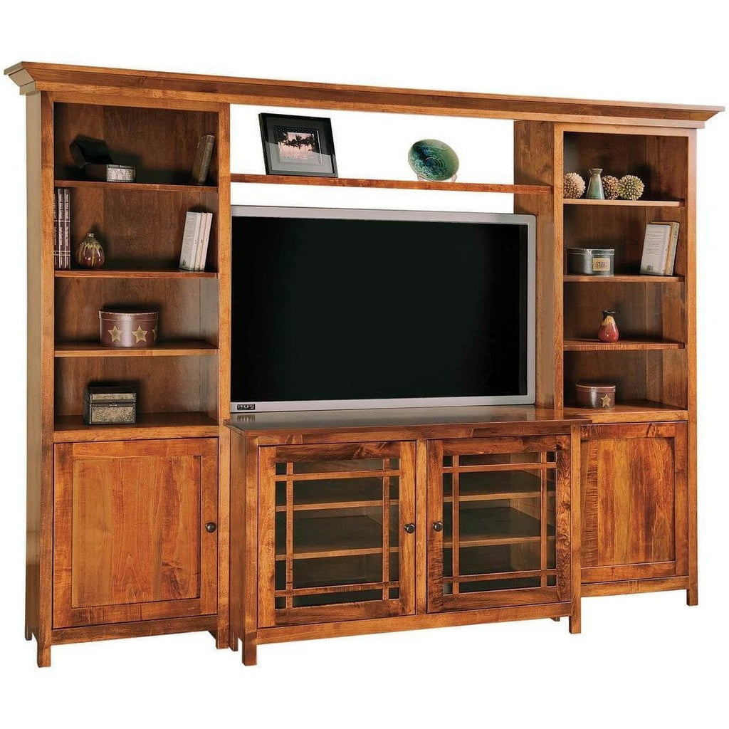QW Amish Mission Wall Unit SPLC-SC-48W JASON MISSION