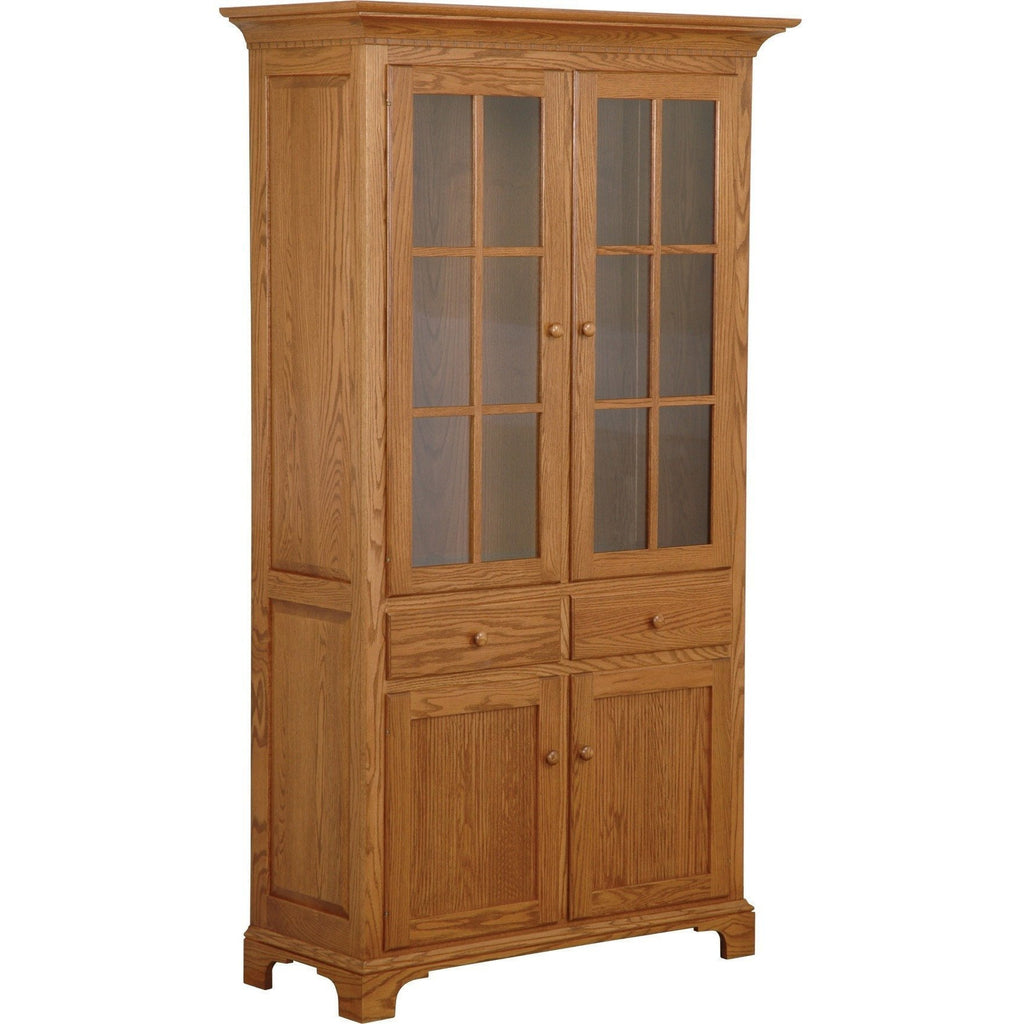 QW Amish NBS Dining Cabinet Long Doors PXIA-0083NBS402DOORS