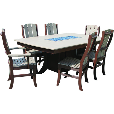 QW Amish Paradise Fire Table OPST-PARADISE4472