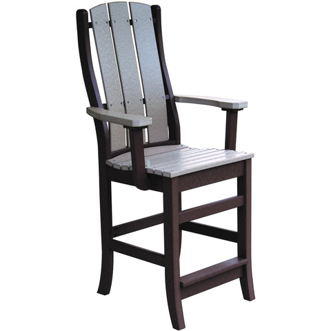 QW Amish Paradise Pub Arm Chair OPST-PARADISE-PUB-ARM