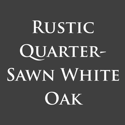 Rustic Quarter Sawn White Oak
