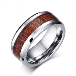 Argentine Mesquite Tungsten Carbide Mens Ring