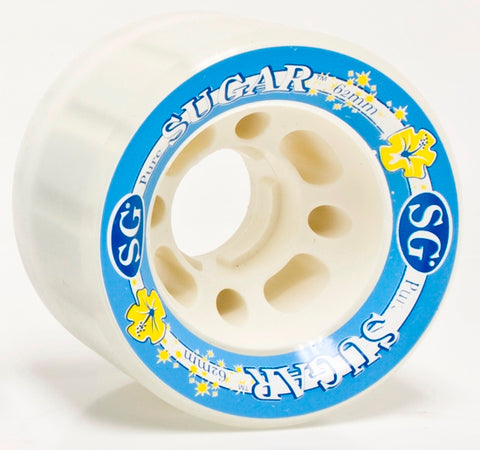 SureGrip Sugar white wheels