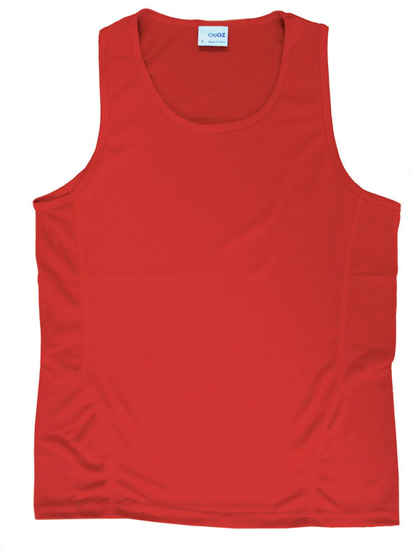 Scrimmage Singlet Mens Red