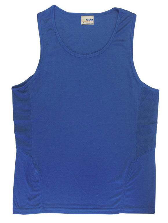 Scrimmage Singlet Mens Royal Blue