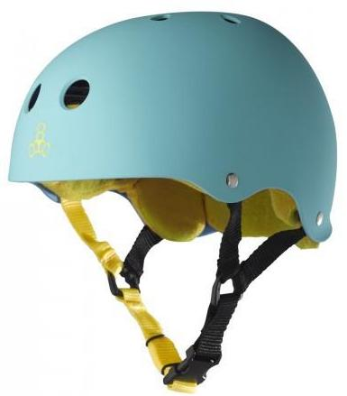 Triple 8 Brainsaver Helmet Baja Teal Rubber