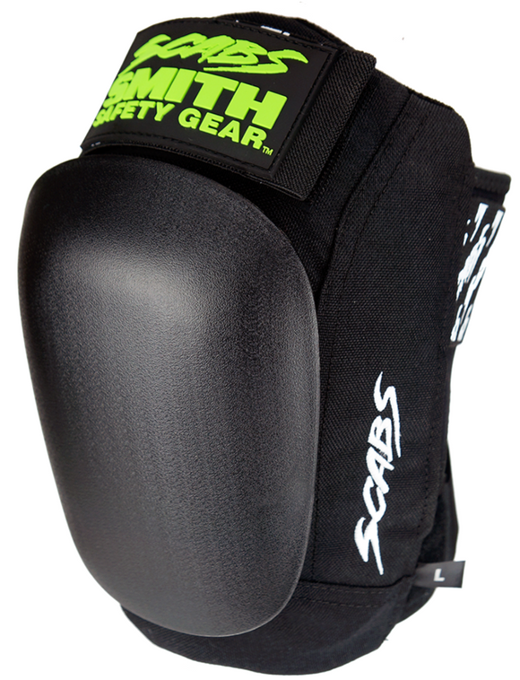Smiths Scabs Skate Knee Pad w/ Black Caps