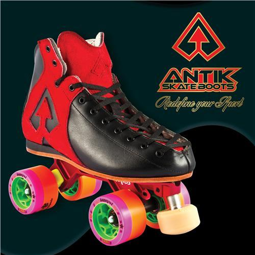 Antik AR1 Hurricane Red Skates