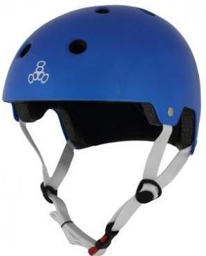 Triple 8 Certified Helmet SS Blue Metallic