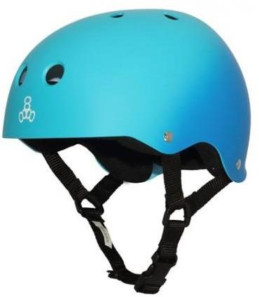 Triple 8 Brainsaver Helmet Blue Fade