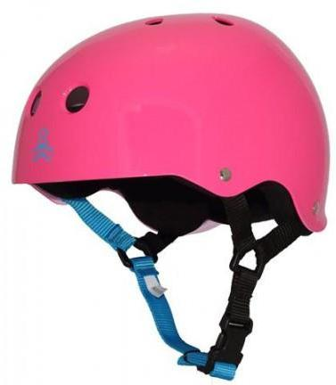 Triple 8 Brainsaver Helmet Fuschia Gloss
