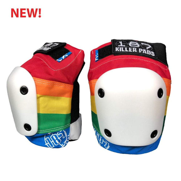 187 Slim Knee Pads Rainbow