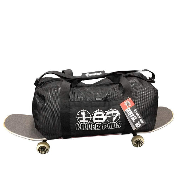 187 Duffle Bag Black War Machine