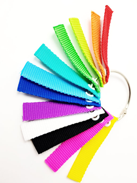 Riedell Solaris Replacement V-Lock Strap - Assorted Colours and sizes