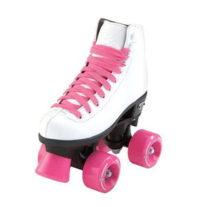 Riedell Wave Jr White Roller Skates