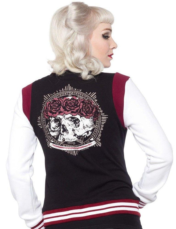 Sourpuss Varsity Omni Black Jacket