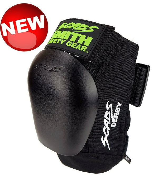 Smiths Scabs Derby Knee Pad w/ Black Caps