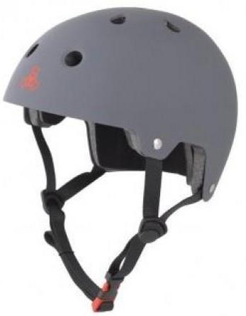 Triple 8 Certified Helmet Gun Metal Rubber
