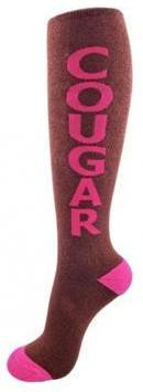 Gumball Poodle Cougar Socks