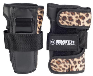 Smith Scabs Wrist Guards Leopard Brown