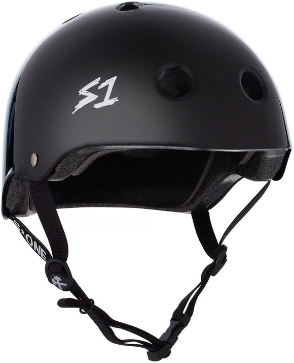 S1 Lifer Helmet Black Gloss MEDIUM