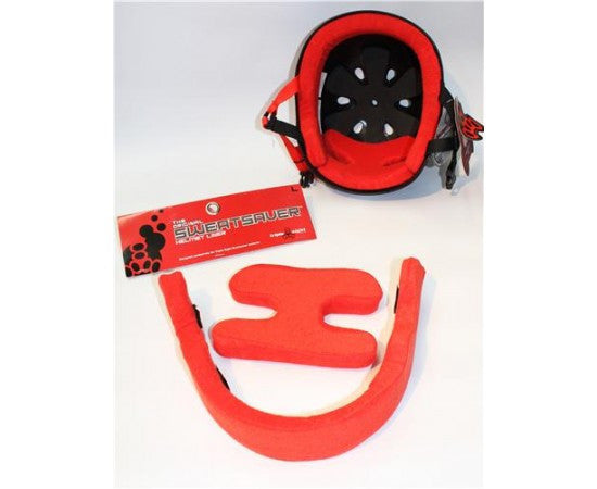 Triple 8 Sweat Saver Helmet liner Red