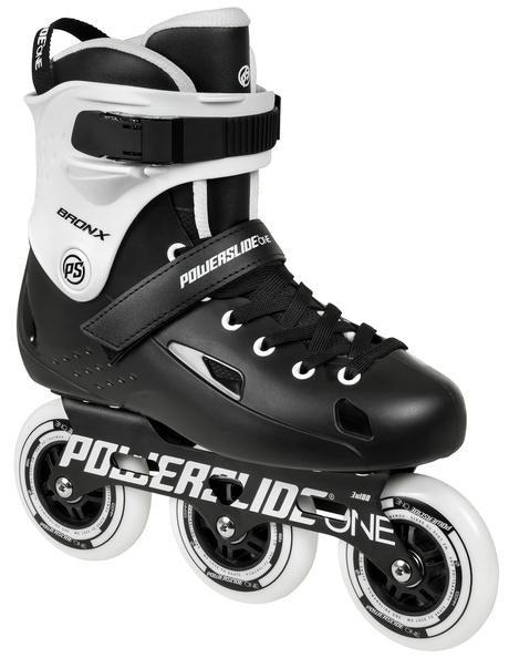 Powerslide One Bronx SC 100 Black White Inline Skates