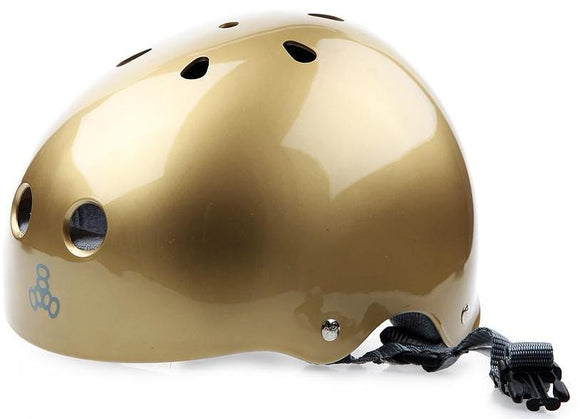Triple 8 Brainsaver Helmet Gold Gloss