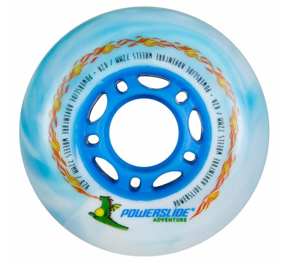 Powerslide Dragon Boys 72mm 80a - 4 Pack