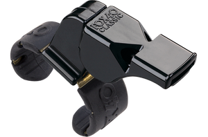 FOX40 Classic Finger Grip Whistle - Black