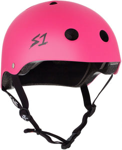 S1 Lifer Helmet Hot Pink Matte
