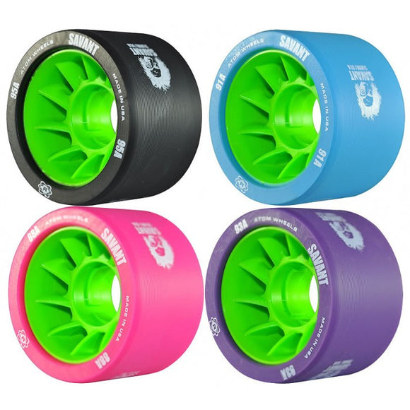 Atom Savant Wheels 59mm 4 Pack