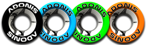 Adonis Wheels 50mm White 101A 4 Pack (LAST TWO)
