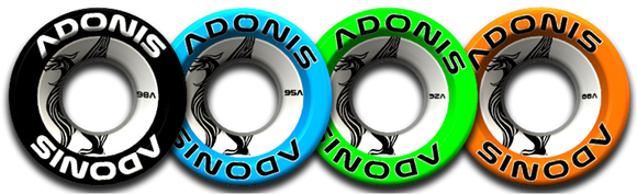 Adonis Wheels 50mm 4 Pack