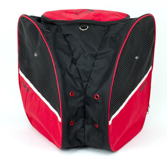 SFR Skate Backpack (Trans-pack) Black Red