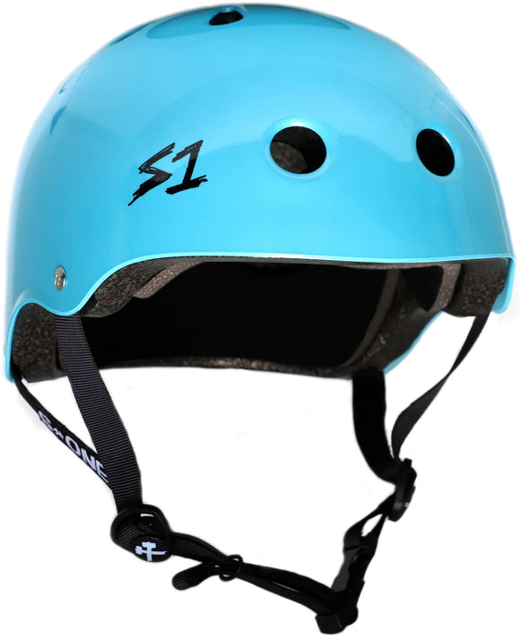 S1 Lifer Helmet Metallic Blue Raymond XXLARGE