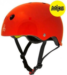 Triple 8 Helmet Derby MIPS Red Gloss