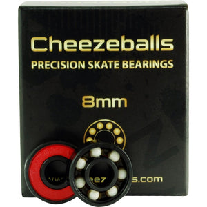 Cheezeballs Goudas Ceramic Bearings 8mm 16Pk