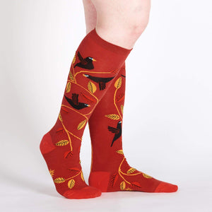 Sock it to Me Darling Starlings Knee High Socks