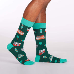 Sock it to Me Day Tripper Mens Crew Socks