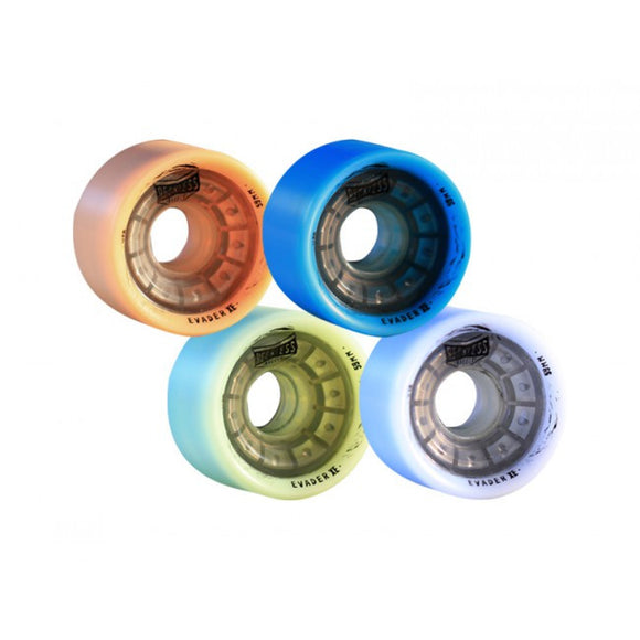 Grn Mnstr Reckless 59mm XE Evader Wheels 4 Pack