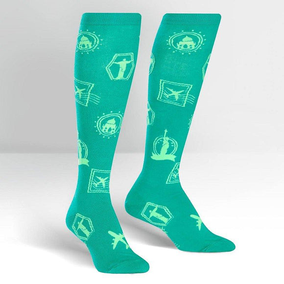 Sock it to Me Jet Setter Knee High Socks