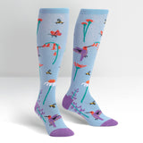 Sock it to Me Flight of the Pollinators Knee High Socks