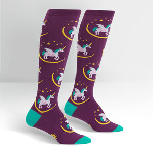 Sock it to Me Wish Upon a Pegasus Knee High Socks