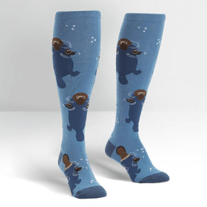 Sock it to Me Deep Sea Queen Knee High Socks