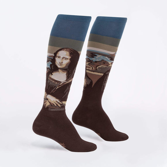 Sock it to Me Mona Lisa Knee High Socks
