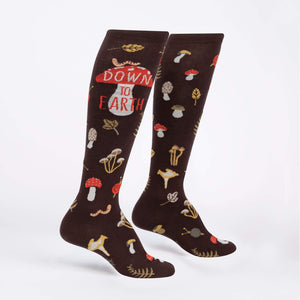 Sock it to Me Down to Earth Knee High Socks