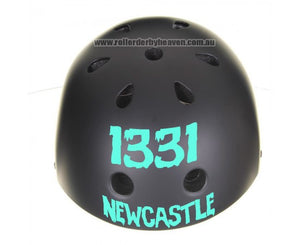 Helmet Sticker - Front Single Colour